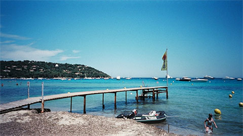 beach saint tropez
