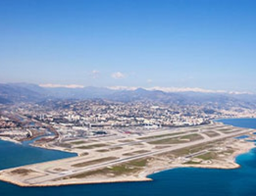 Nice airport, the gateway to the French Riviera